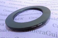 77mm to 55mm 77mm-55mm Stepping Step Down Filter Ring Adapter 77mm-55mm