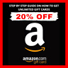 Get Amazon Online Shopping Gift Card 5-20% OFF Discount 🔥