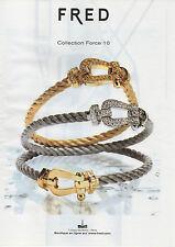 Publicité 2011  //  FRED  collection Force 10
