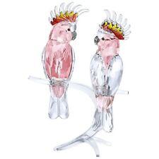 SWAROVSKI #5244651 PINK COCKATOOS BRAND NIB BIRD LOVE SAVE$$ FREE SHIP