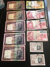 Lot De Billets Belge, Escudos, Pesetas, Francs Belge
