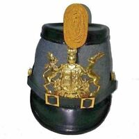WWI German Prussian Jager Officer's Helmet Prussian Shako Helmet HALLOWEEN