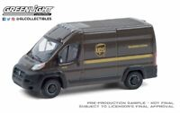 A.S.S NEU RAM ProMaster 2500 Cargo High Roof UPS Route Runners GreenLight 1/64