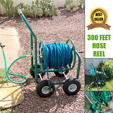 Hose Reel Cart Water Plant Garden Heavy Duty Metal Planting Outdoor Storage New