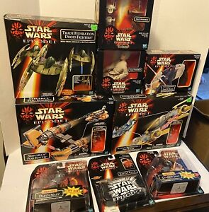 Star Wars Vehicle Lot. Factory Sealed.