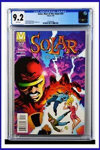 Solar Man Of The Atom #59 CGC Graded 9.2 Valiant March 1996 Comic Book