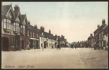 More details for hampshire odiham. the high street, odiham. 1906 odiham postmark printed postcard