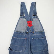 Vtg 60s Big Mac Low Back Overalls size 34 x 26 Union USA Made Broken-In Bibs
