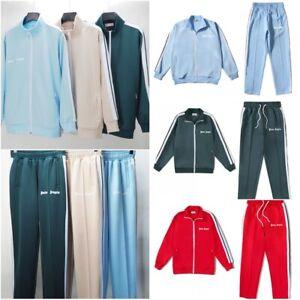Unisex Palm Angels Trainingsanzug Jacke Hose Herren Sportbekleidung Hosenanzug