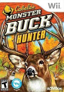 Cabela's Monster Buck Hunter - Nintendo  Wii Game