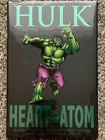 Hulk Heart of the Atom Hardcover Marvel The Avengers Premier Classic Sealed NEW