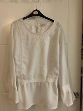 Ladies Simply Be White Top Size 20/22