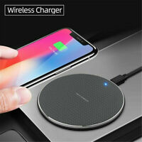 Qi Wireless Fast Charger Pad Dock For iPhone 8 Plus SE iPhone 11 Pro X XR XS Max