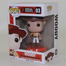Funko POP! Disney -Special Events Figure - WOODY (San Francisco Giants) #03 *NM