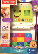 Fisher Price Laugh & Learn Laptop Nib Gray Color