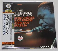 JOHN COLTRANE / Quartet Plays JAPAN CD Mini LP w/OBI UCCI-9013 - Impulse! -