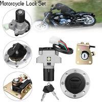 Ignition Switch Lock &Fuel Gas Cap Key for Suzuki GS500 89-00 GSX400