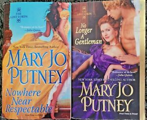 MARY JO PUTNEY THE LOST LORDS SERIES HISTORICAL ROMANCE PAPERBACK 2 BOOK LOT