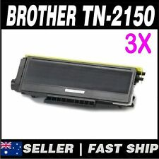 3x Black Toner for Brother TN2150 TN2130 for HL2170W, MFC7340, MFC7440, MFC7840W