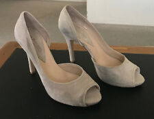 Laura Busi Grey Italian Shoes Sz37