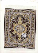 Rug  8L  miniature dollhouse woven fabric carpet  1pc 1/12 scale Turkish