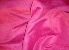 """Suede fabric Fuschia Polyester solid faux suede 58"""" upholstery fabric 10 yards"""