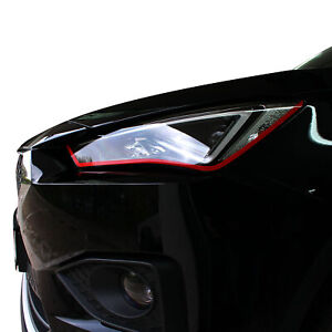 Devil Eye® Scheinwerfer Folie Stripe für Seat Tarraco Tuning Zubehör Streifen
