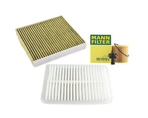 Mann-Filter Air Oil Cabin Filters RAPKIT35472 fits TOYOTA KLUGER GSU45R