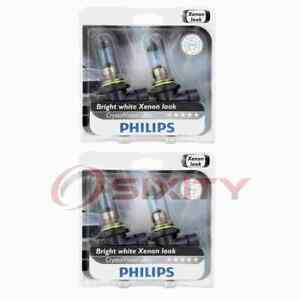 2 pc Philips Low Beam Headlight Bulbs for Scion tC 2005-2008 Electrical bc