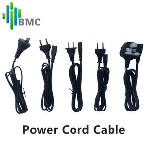 1pcs US/EU/UK/AU/Korea Standard Plug Power Cord Cable for BMC CPAP/APAP Machines