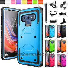 For Samsung Galaxy Note 9 8 Case Shockproof Armor Hybrid Rubber Hard Phone Cover