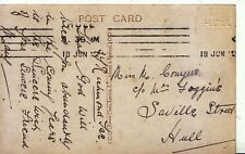 Family History Postcard - Conyers - Saville Street - Hull - Ref 1911A