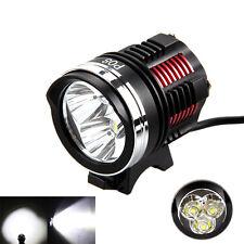 9000Lm 3X XM-L2 LED Front Bicycle Head Lamp Bike Light Flashlight Headlight