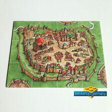 Carcassonne Espansione città LAVAGNA start-Start tableau-start campo-Extention