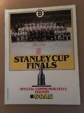 1987-88 Stanley Cup Finals Special Commemorative Edition Goal Magazine BRUINS