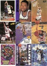 1996-1997 Topps Marcus Camby RC Raptors Denver Nuggets New York Knicks Lot