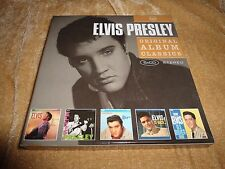 Elvis Presley: Original Album Classics (1956, 1957, 1960) [5 CD] (2008 Legacy)