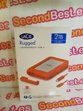 Disco duro portátil LaCie Rugged USB-C Thunderbolt 2TB