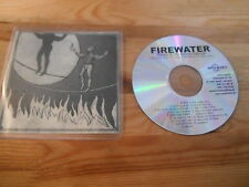 CD Pop Firewater - Man On The Burning Tightrope (15 Song) Promo NOISOLUTION