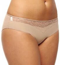 Simone Perele Bikini Panty 13T720 Nude KNICKERS Size Eur 4 (Large) 10-12 uk size