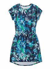 Columbia Kids Freezer Dress Girl S 7/8 Omni-Shade UPF50 Blue