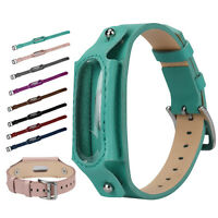 New Replacement Leather Wristband Band Watch Strap For Xiaomi Mi Band 2 Bracelet