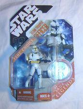 Star Wars Saga Legends Clone Trooper Officer (Yellow)