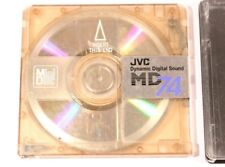 JVC MD DIGITAL AUDIO RECORDABLE MD 74 MINIDISC  (USED)