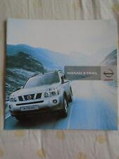 Nissan X Trail range brochure Jul 2008 South African market