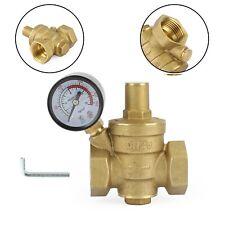 Dn25 1 Brass Adjustable Water Pressure Reducing Regulator Valves With Gauge P1