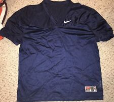 NEW Nike Mens Navy Full Mesh Practice Football Jersey *XXL*