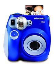 Polaroid PIC-300 Instant Film Camera Blue Box damage Free Priority Mail!