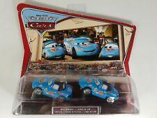CARS Disney Pixar Mattel Movie Moments Film lot 2 voitures Dinoco Mia & Tia NEUF