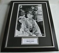 Mark Lester SIGNED FRAMED Photo Autograph 16x12 display Oliver Film Musical COA